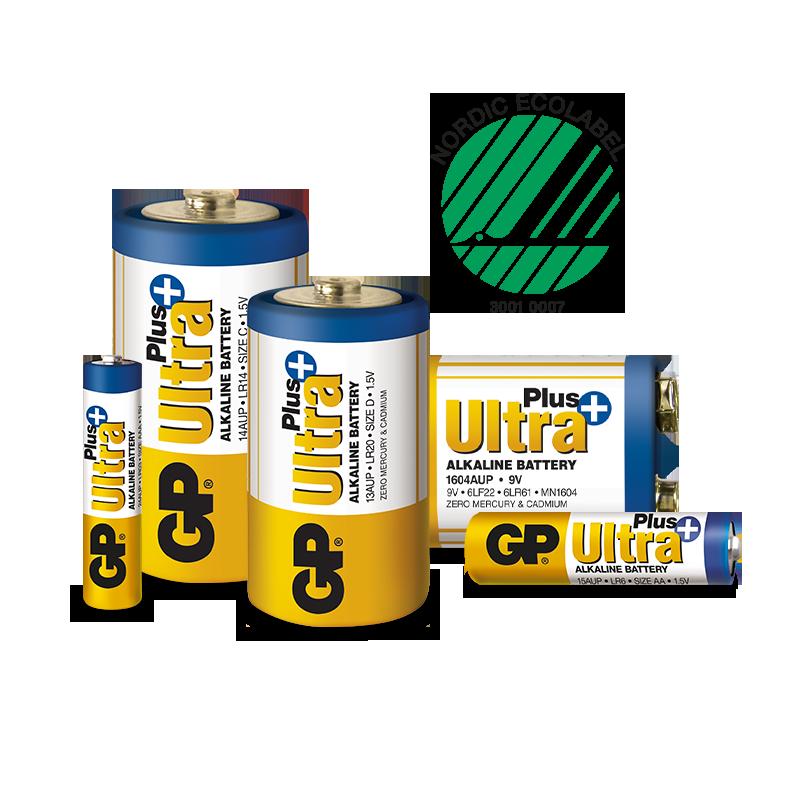 miljömärkta engångsbatterier